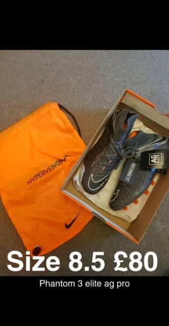 online retailer c09dd e0d77 Nike Hypervenom phantom elite df ag, size 8.5 football boots   in  Erdington, West Midlands   Gumtree