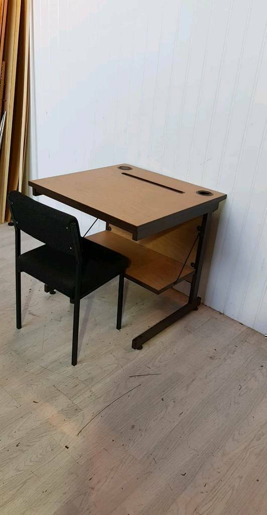 Single Office Desk With Chair