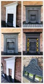 Fireplaces refurbished and restored