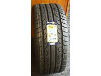 2 x 22 inch tyres for sale suitable for VW Touareg,Range Rover or 4x4