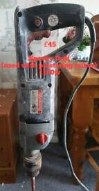 Sparky Drill used with plastering mixer