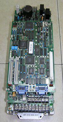 Mazak Mitsubishi Mr-s12-80a-e31 Drive Sn 002639 No Board Rf312b Fully Tested