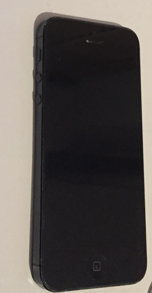 APPLE IPHONE 5 BLACK FOR PARTS ONLY