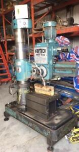 """(USED) RADIAL DRILLING MACHINE / FORTECH 1-11/32"""""""