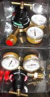 PAIR OF VICTOR RF-250HD FIRE POWER REGULATORS,OXY - FUEL GAS