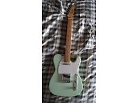 WILL SHIP Mint Green Vintage Fender Telecaster American Deluxe Style Electric Guitar - CHINA REPLICA