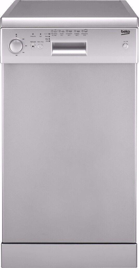 Beko Freestanding Slimline Dishwasher DE2542F - White