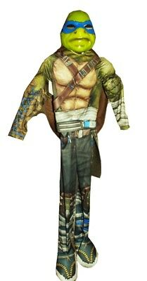 Teenage Mutant Ninja Turtles Boys TMNT Leonardo Halloween Costume Shadows M NEW](Tmnt Leonardo Costume)