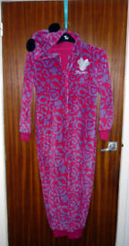M&S Disney Minnie Pink Mix Onesie (not Gerber) Age 11-12 years