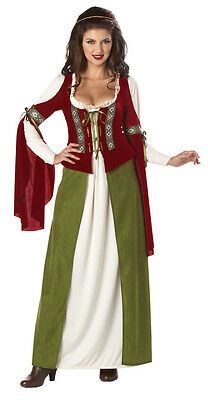 Maid Marian Robin Hood Adult Women Renissance Costume - Womens Robin Costumes