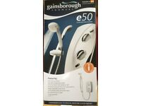 Gainsborough Electric shower. New unused, in box see photos for spec