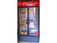 Shop fridges and freezers , True Mfg GDM-35F, 35 cu ft, 2 Door, Swing Door Freezer