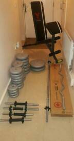 YORK HOME GYM EQUIPMENT
