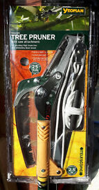 Yeoman telescopic tree pruner/saw