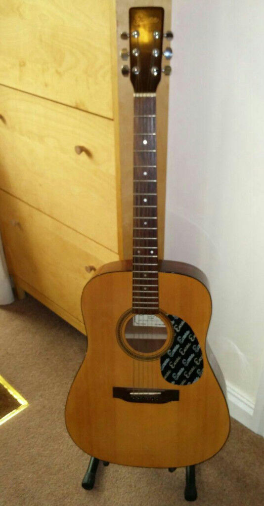 Encore acoustic guitar - full size
