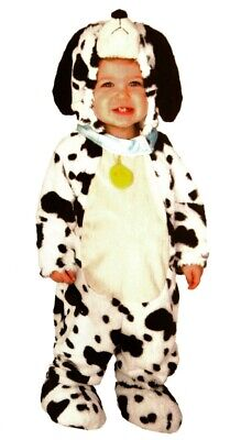 Baby Boys DALMATIAN Dog Puppy Doggy Halloween Costume Outfit 6 12 18 Months  NEW