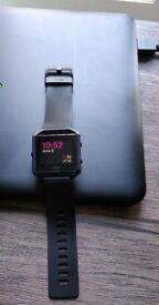 Fitbit Blaze Smart Fitness Running Watch Black Heart Rate Monitor (Size S/P)