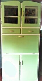 Retro Kitchen Cupboard- 1940/50's Original Cabinet with a make-over......