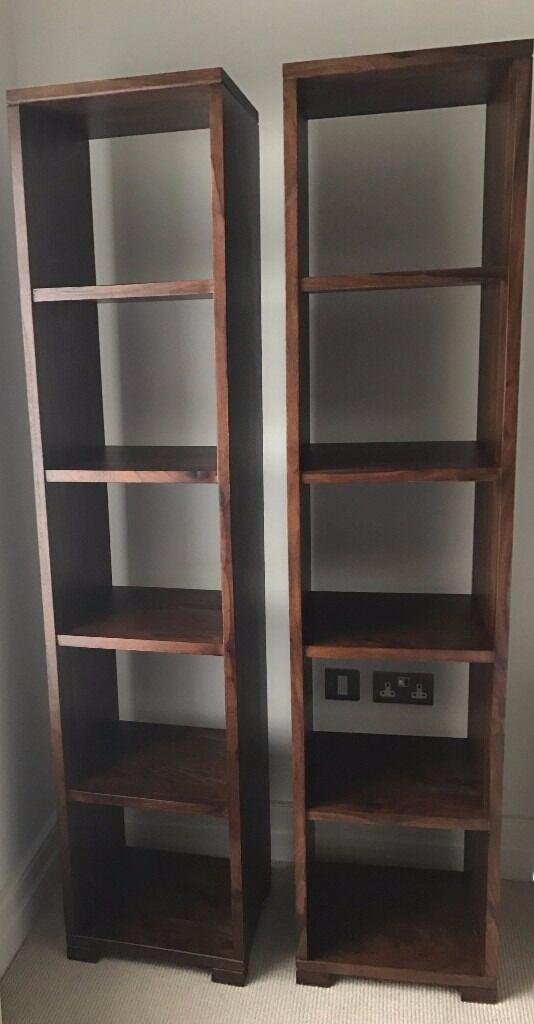 Bookcase - Dark Stain Wood