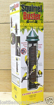 Brome Squirrel Buster Finch Squirrel Proof Bird Feeder #1016 Squirrel Proof
