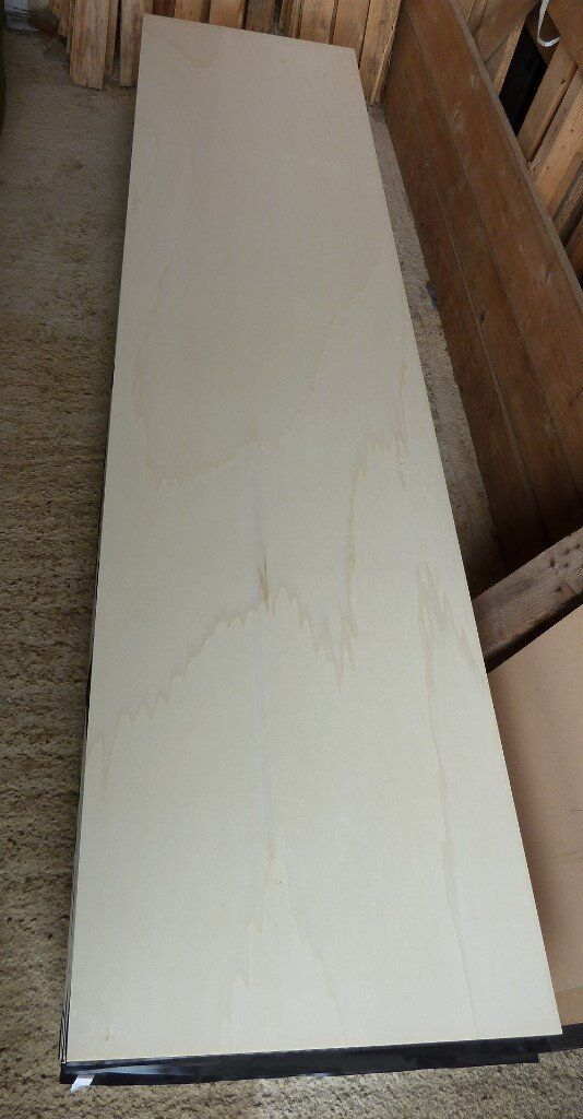 17 Pieces Of NEW 12mm Top Quality Exterior Hardwood Plywood 8ft X 24in  (2440mm X 610mm)