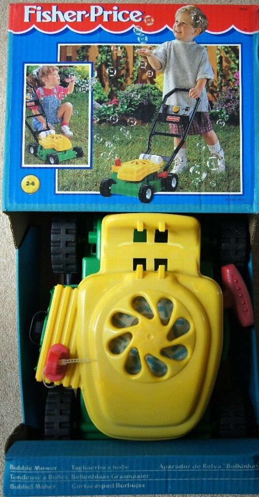 Fisher Price Bubble Mower In Whiteley Hampshire Gumtree