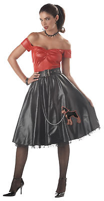 50's Grease Tuff Cookie 50s Jersey Bad Girl Adult Costume (Cookie Girl Costume)