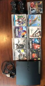 Console 300GB, 9 games and 2 controllers