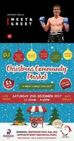 Come & meet Anthony Crolla at the Christmas Market