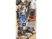 Job lot of mini bike / quad bike parts