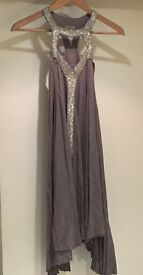 All Saints Selena dress, evening dress, party dress, embellished, very good condition