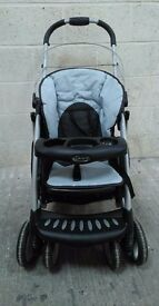 A Graco pushchair stroller