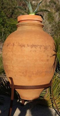 Garden Flower Vase Clay Vase Amphora Terracotta Vase Container Antique Parking