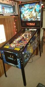 Avatar Pro Pinball Machine Fantastic Condition * Low Plays