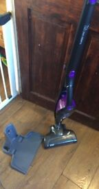 Russell Hobbs turbo vac pro Hoover and charging port