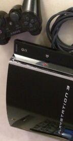 60GB Playstation 3 Backwards Compatible Console - Charcoal Black