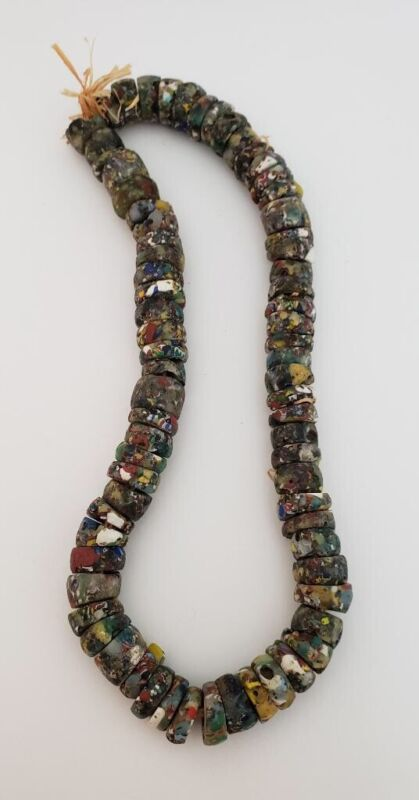 Vintage Strand of 75 African trade beads