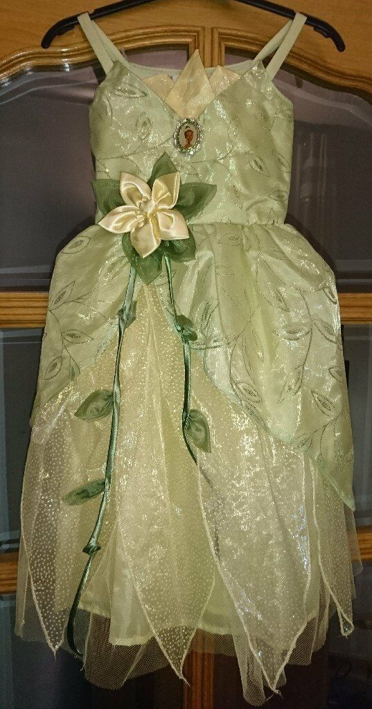 PRINCESS TIANA DRESSING UP DRESS AGE 4-5 YRS