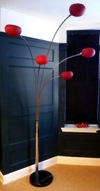 Retro Arc Floor Lamp, 5 Lights