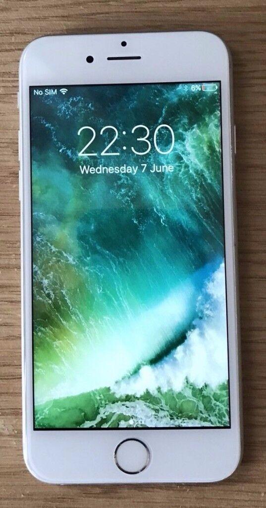 Apple Iphone 6 White/grey. 16Gb Boxed. Unlocked.