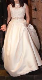 Ronald Joyce Wedding Dress Size UK 12