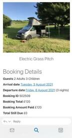 Camping holiday 3rd-6th August Stamford PE9 3UU
