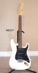 Electric Guitars with Tremolo Black, White, Blue Brand New