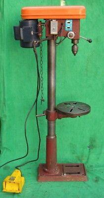 13 Norwalk Fdp-1258 Floor Drill Press 12 Speed 58 12hp 115230v 60hz 1ph