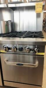ATO-4B Gas Range. Restaurant Equipment Kitchen Equipment