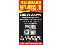washing machine repair, amrican style fridge repair,fridge freezer repair