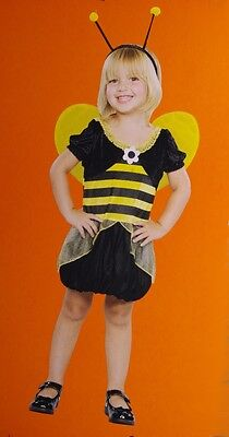 Baby Girls Toddler Bumble Bee Honeybee Halloween Costume 2T 12 18 Months NEW](Toddler Halloween Costumes Bumble Bee)