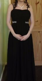 Prom dress/ evening dress size 8-10. Only worn once.