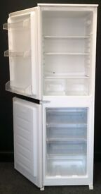 CURRYS USED BUILT-IN FRIDGE FREEZER + FREE BH ONLY POSTCODES DELIVERY & 3 MONTHS GUARANTEE