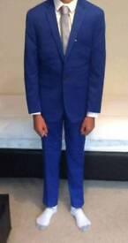 BURTON MENSWEAR Skinny Fit 3pc Suit